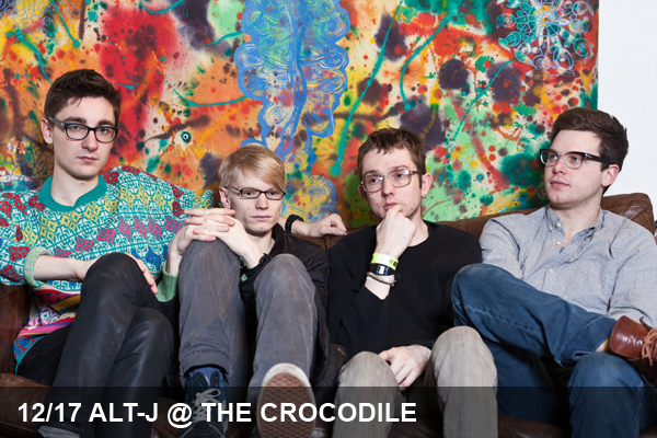 Mercury Prize winning Alt-J playing Seattle's The Crocodile