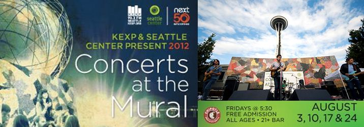 Kexp sea live music for Concerts at the mural