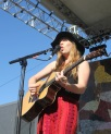 ZZ Ward at the Starbucks Stage
