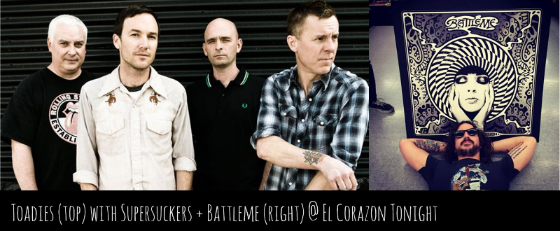 Toadies Battleme El Corazon