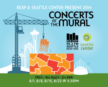KEXP concerts at the mural 2014